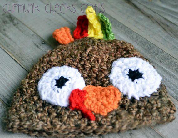 Turkey hat newborn turkey hat baby turkey hat toddler