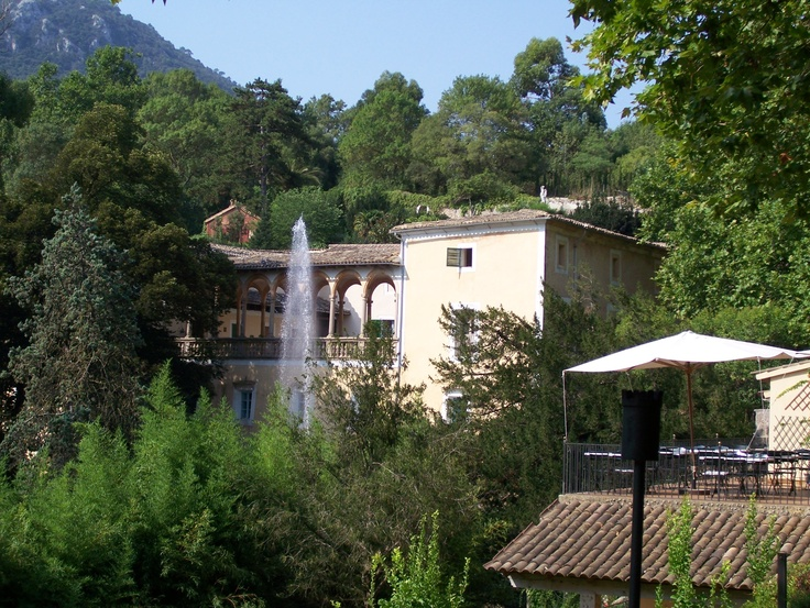 Where I fell in love with my husband. La Granja, Mallorca.