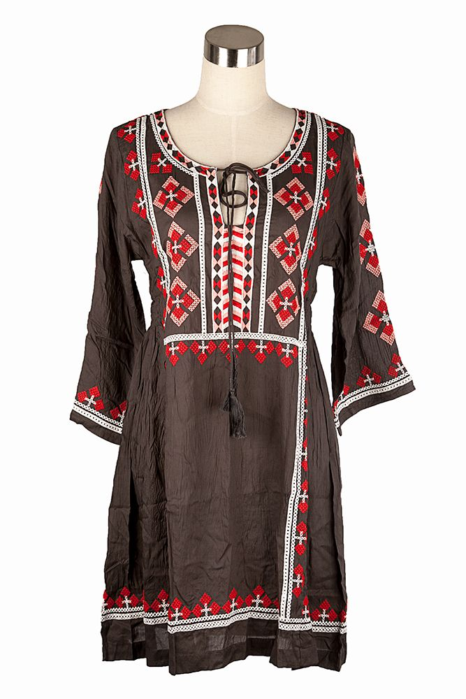 Bring a bit of Sound of Music to your life with this stunning Boho style semi fitted tunic from Cake.