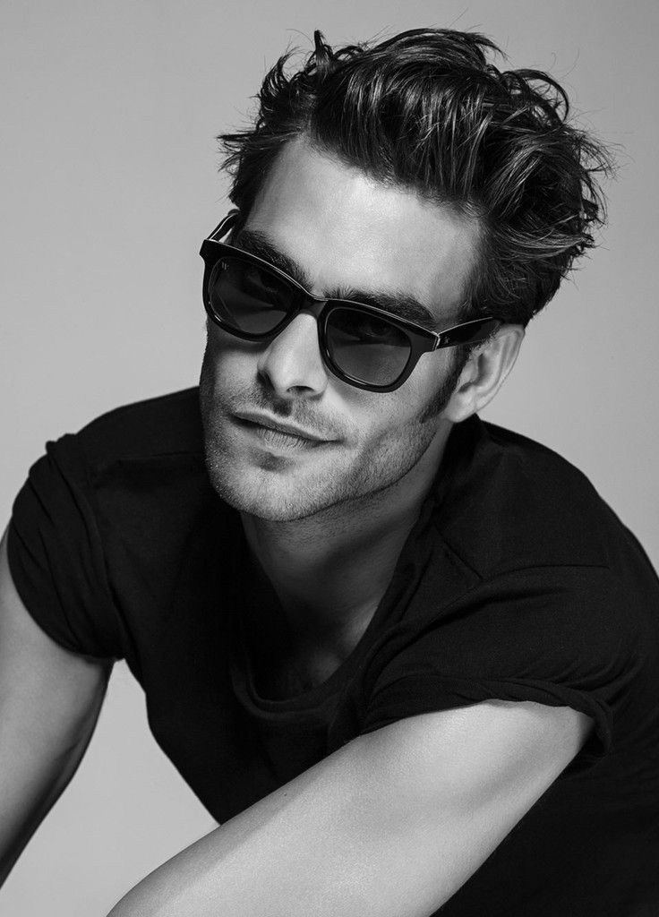 Jon Kortajarena Wolfnoir Collection 2015 Shoot 002 Jon Kortajarena Collaborates with Wolfnoir for Stylish Sunglasses Collection