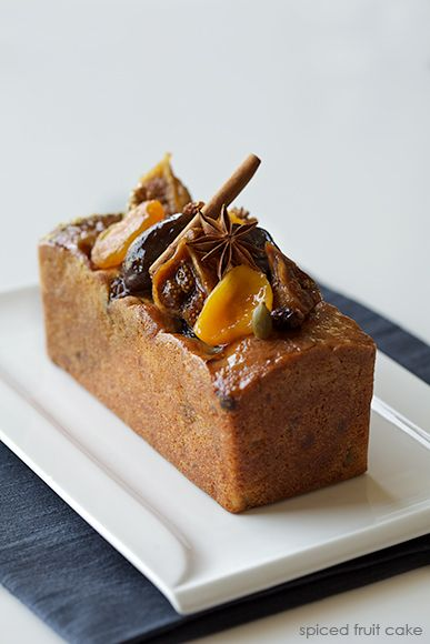 spiced fruit cake