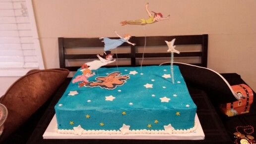 Peter Pan Birthday Cake Decorations