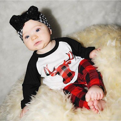 Now available on our store: Infant Baby Cloth... Check it out here! http://toddleloo.myshopify.com/products/infant-baby-clothing-sets-xmas-newborn-baby-boys-girls-kids-casual-deer-t-shirt-tops-plaid-pants-outfits-clothes-sets?utm_campaign=social_autopilot&utm_source=pin&utm_medium=pin