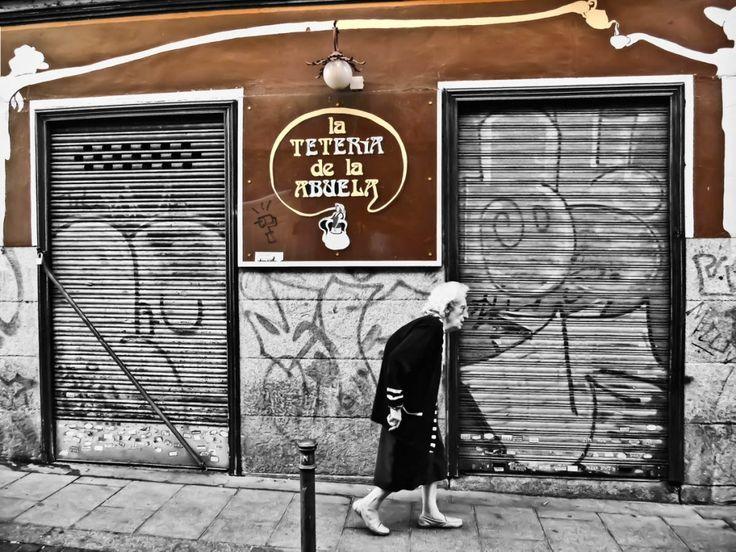 Madrid, La Teteria de la Abuela    Por Manuel Sosa
