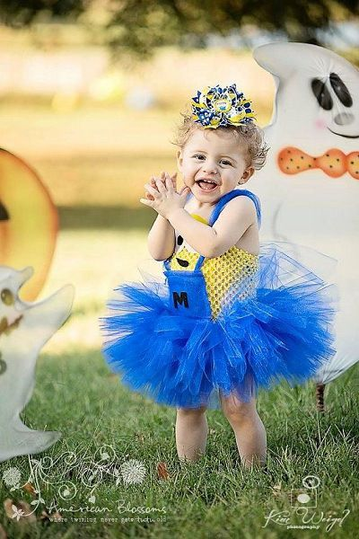 Minion Birthday Party Costume or Outfit for Kids – Girls and Boys