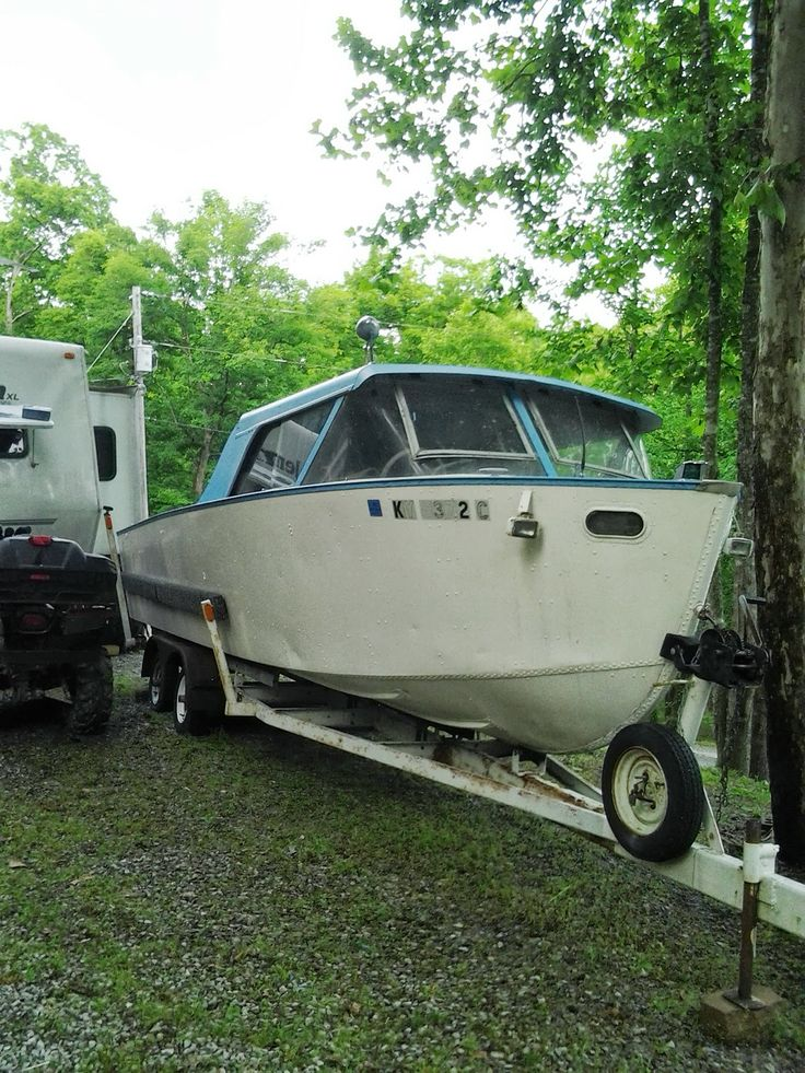 1959 Lonestar Boat we affectionately call Tubby! Things