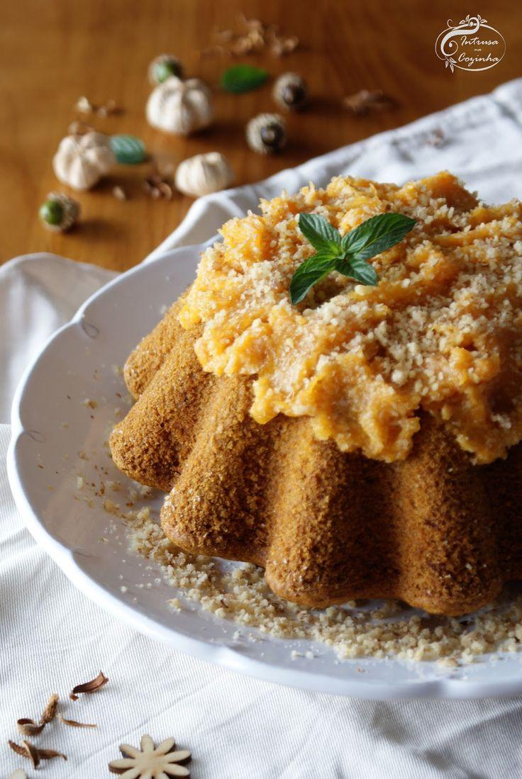 Intrusa na Cozinha: Bolo de Abóbora e Coco {Coconut and Pumpkin Cake}