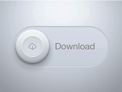 Download Button animated by Fede Cook
