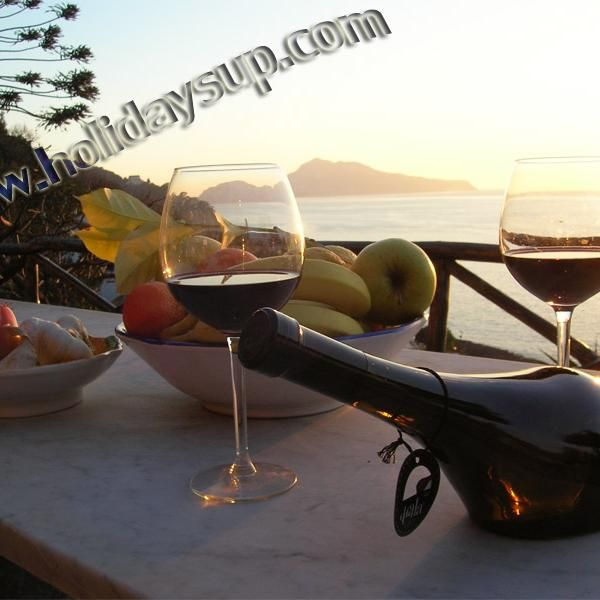Amazing Isle of Capri, Naples bay view in a quiet position nearby the sea in a private Villa with private pool