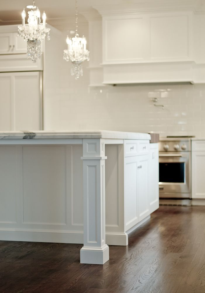 Granite Countertop Support With Pillar