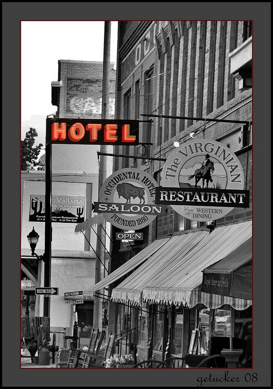 Occidental Hotel Buffalo WY- Had a great time here