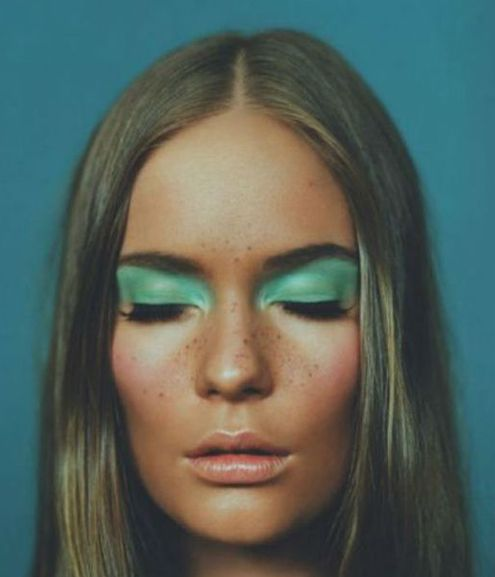 Image about green atmosphere | Greenery Pantone - Make up Beauty