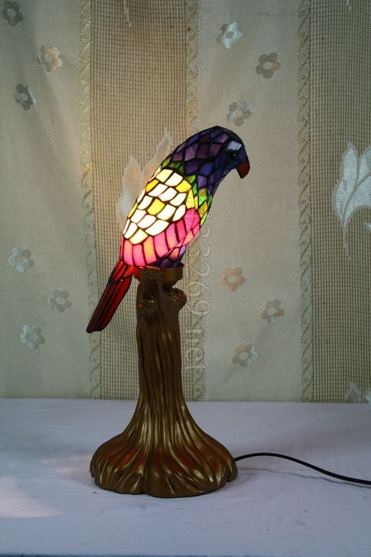 15 best Parrot Tiffany Lamps images on Pinterest