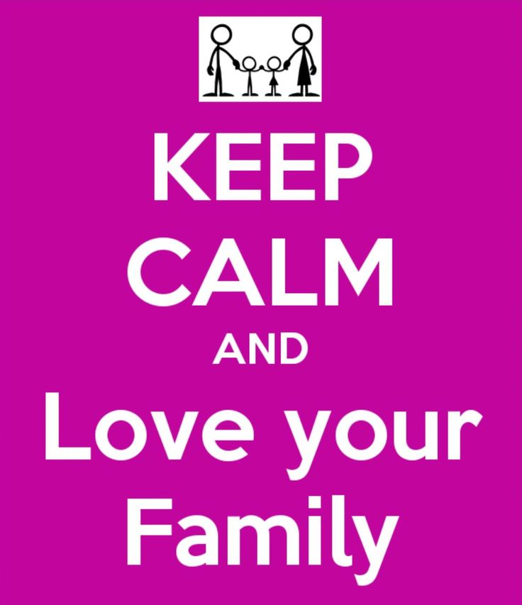 Every one should have a family to love