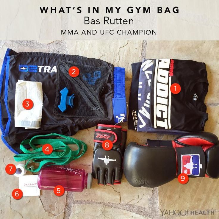 Check out Bas Rutten's must-have workout gear.