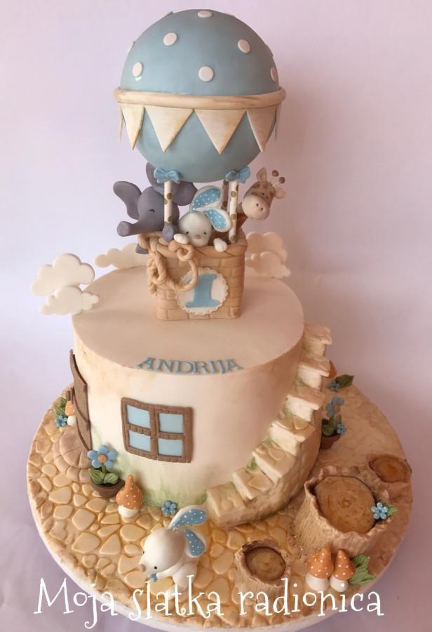 Baby vintage cake  by Branka Vukcevic