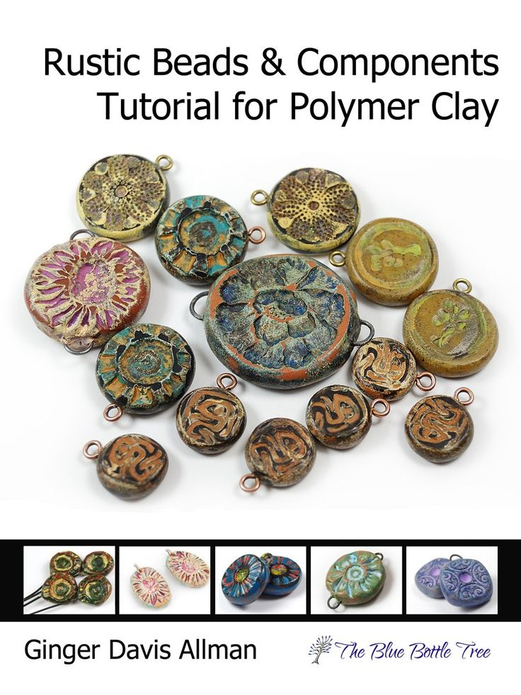 Rustic Beads Polymer Clay Tutorial