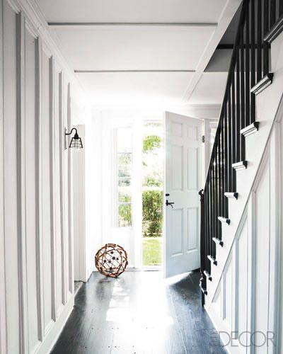 Staircase/backdoor foyer area