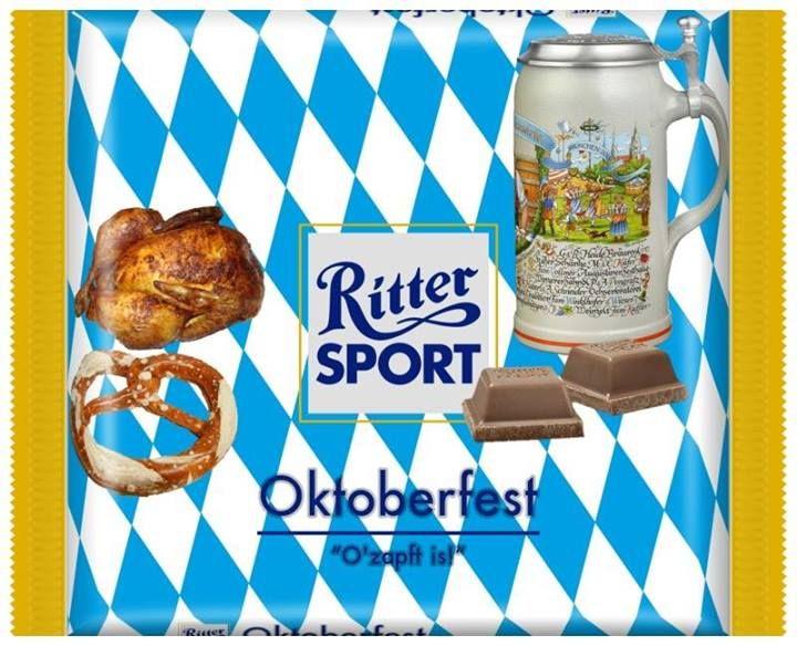 RITTER SPORT Fake Schokolade Oktoberfest