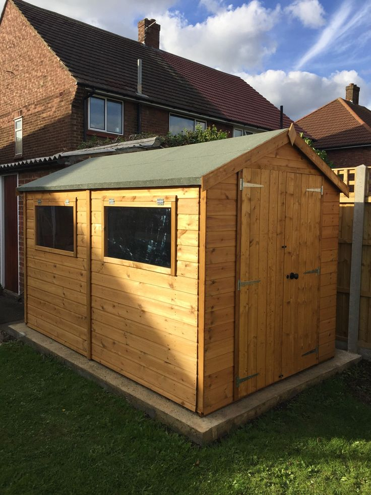 10 x 6 waltons groundsman tongue and groove apex garden shed - Garden Sheds Quick Delivery