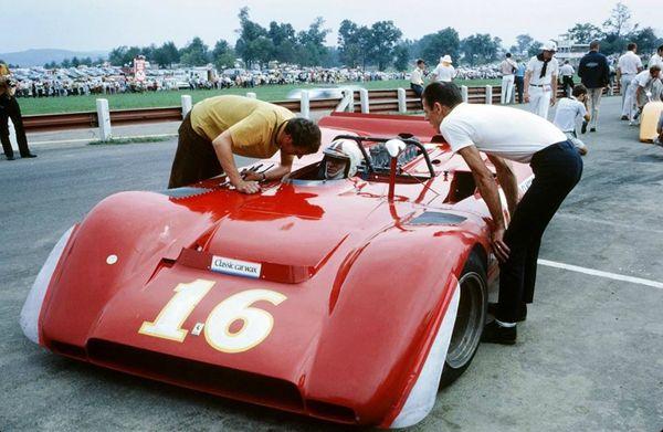 Chris Amon - Ferrari 612P - Formula 1 Ent. Inc. - Buckeye Can-Am Mid-Ohio - 1969 Canadian-American Challenge Cup, round 5