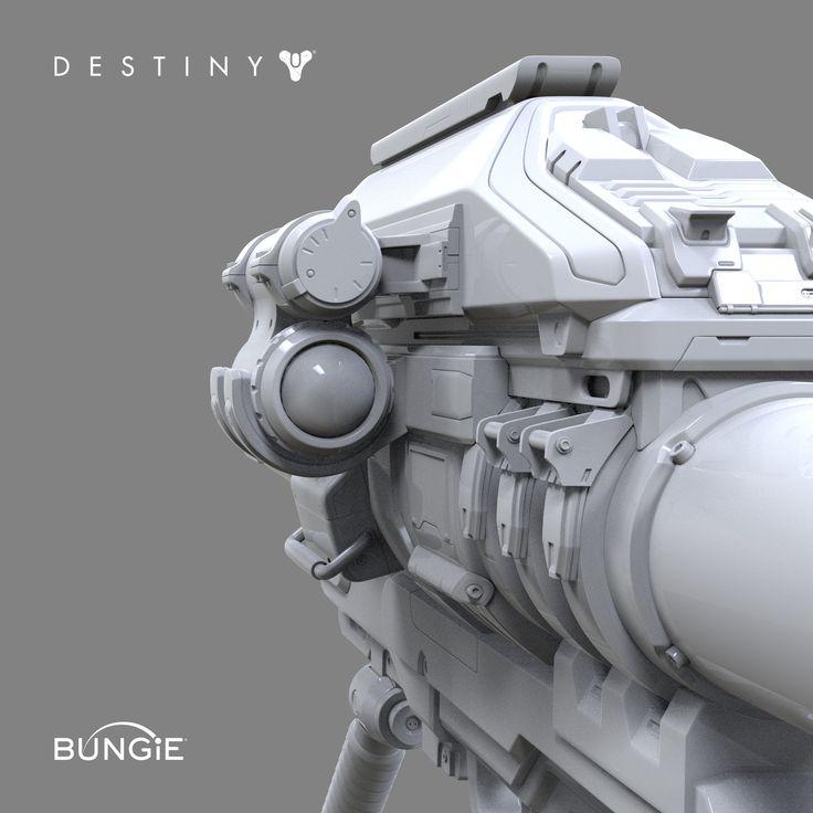 ArtStation - Destiny: Rocket Launcher A FP, David Stammel
