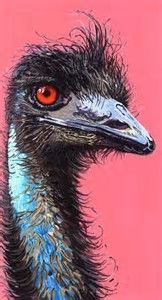 Image result for Three Emu Painting