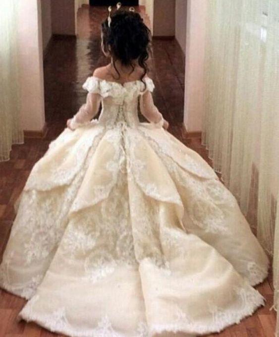 Elegant Flower Girl Dress
