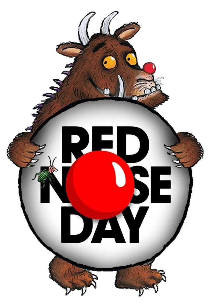 Comic Relief Red Nose Day Gruffalo T shirt Transfer Iron Charity A5 in Clothes, Shoes & Accessories, Women's Clothing, T-Shirts | eBay!
