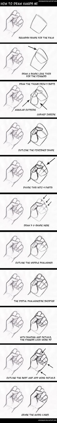 really helpgul breakdown of the hand. i personally am terrible at draweing ahnds so this is very relevant to me and charector design.