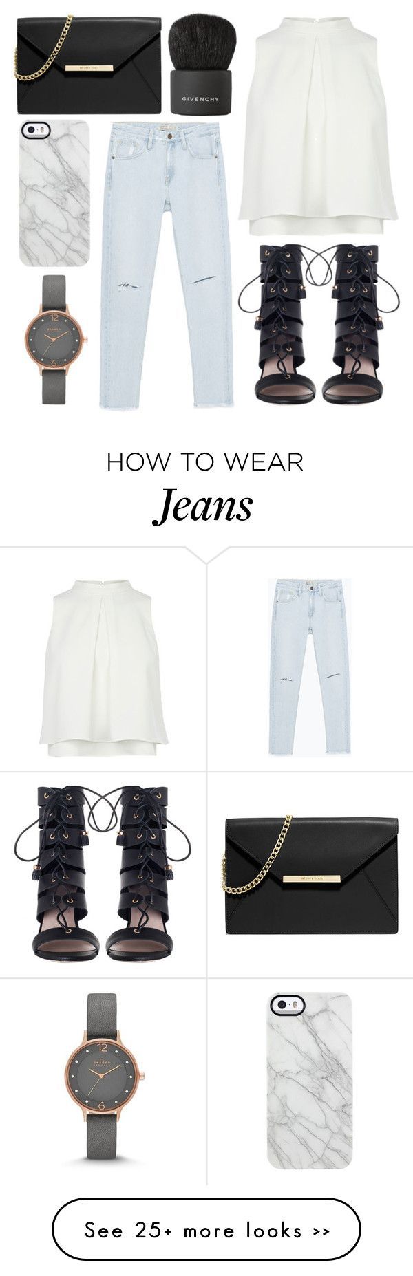 """""""force of nature"""" by grey-eyes on Polyvore featuring Givenchy, Zara, Zimmermann, MICHAEL Michael Kors, Uncommon and Skagen"""