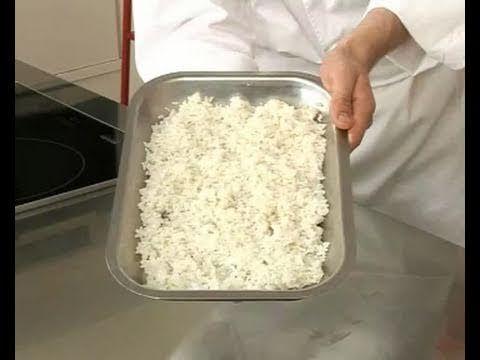 Technique de cuisine : Préparer un riz à sushis