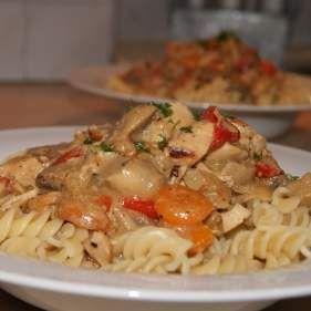 Rezept HähnchenGulasch in Paprikasoße von Irella - Rezept der Kategorie Hauptgerichte mit Fleisch