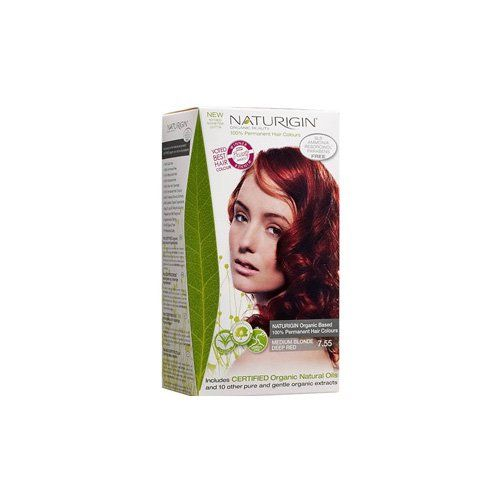 Naturigin Hair Colour - Permanent - Medium Blonde Deep Red - 1 Count - - - Dairy Free - Yeast Free - -Vegan *** Click on the image for additional details. (This is an Amazon affiliate link)