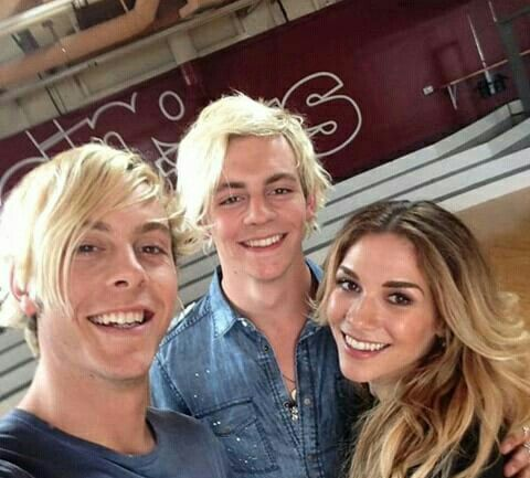 Ryker, Ross e Allison Holker
