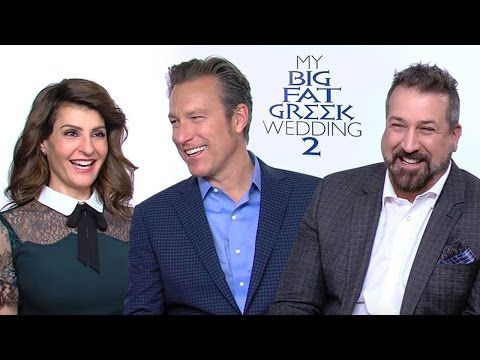 Get tickets & showtimes: http://regmovi.es/1PnH5F9 Opa! The entire Portokalos family has returned for another Big Fat Greek wedding! We sent Regal correspondent Matthew Hoffman to crash the festivities and he came away with a great scoop from creator/writer/star Nia Vardalos and got John Corbett to show off his strength by tearing a plate in half with his bare hands.