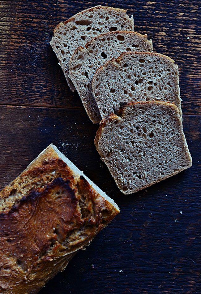 Chleb żytni na zakwasie bez dodatku drożdży
