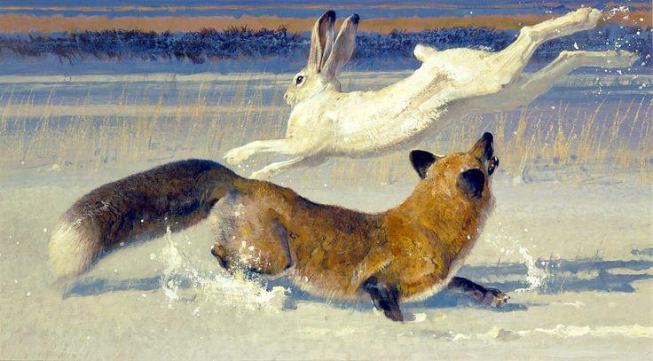 Pas de Deux | Robert Kuhn 1920 - 2007 | Artwork | National Museum of Wildlife Art