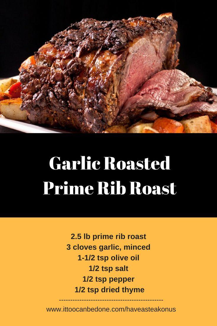 Chambers Garlic Roasted Prime Rib Roast Prime Rib Roast Rib Roast Stuffed Peppers