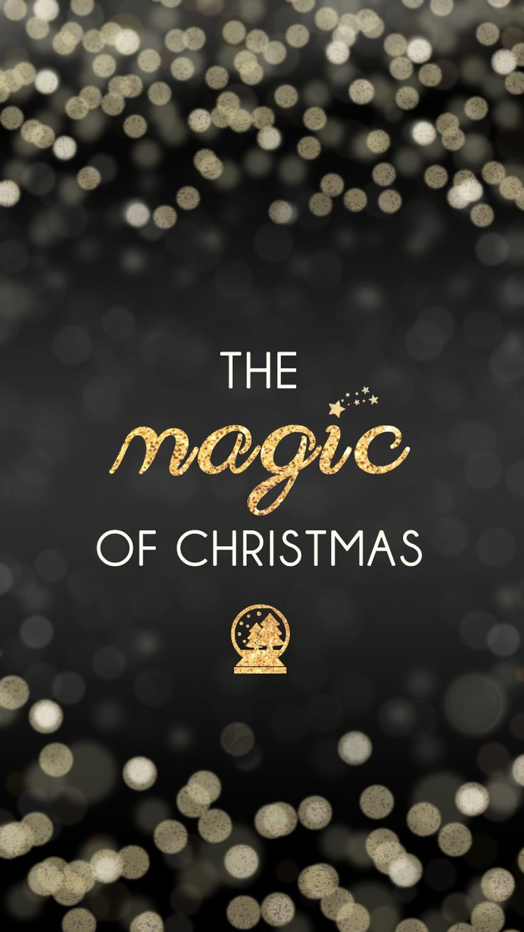 The Magic Of Christmas U003c3 (free IPhone 6 Christmas Wallpapers)
