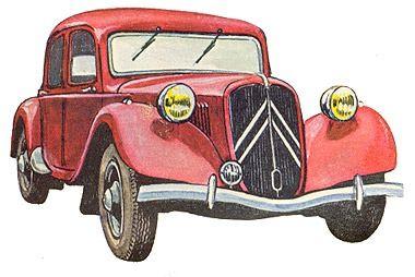 Citroen Traction Avant  Op blog ook afbeeldingen v Citroens 1926-1960