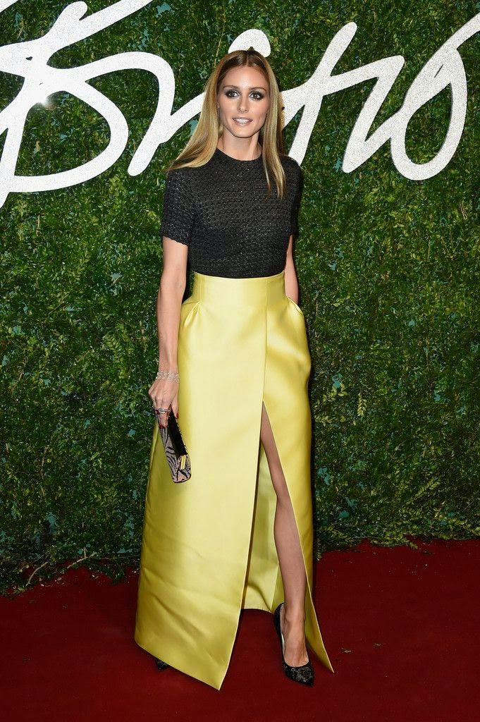 The Olivia Palermo Lookbook : Olivia Palermo At The British Fashion Awards