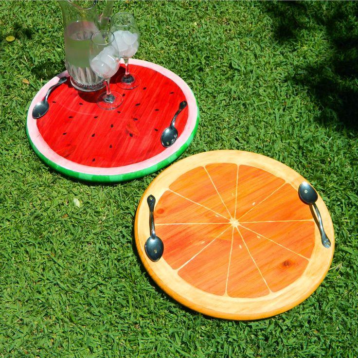 Mark Montano's fabulous Summer Fruit Trays | Rit Fabric Dye
