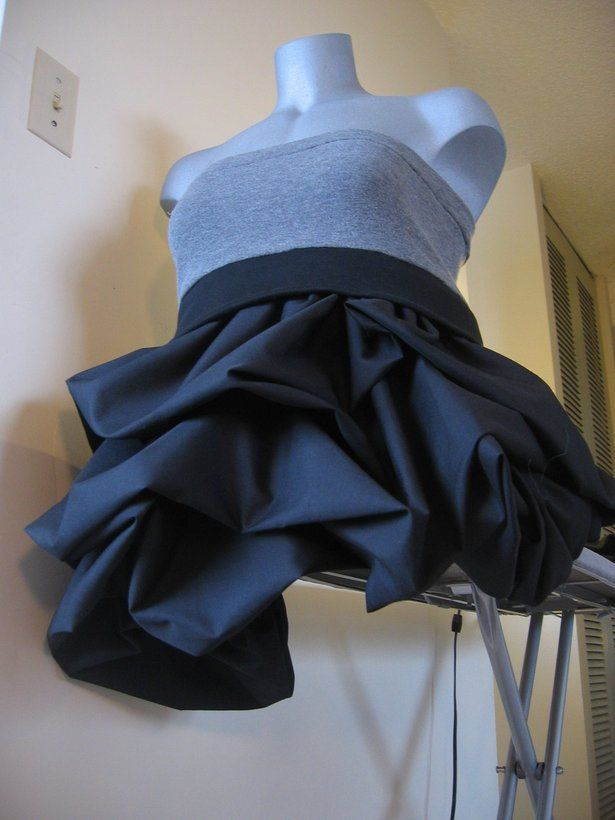 """""""Pick up skirt technique"""" - great for making cute little skirts for tribal fusion"""