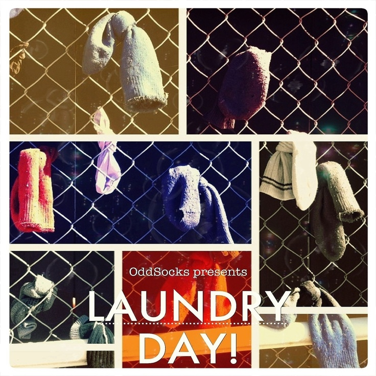 OddSocks Presents LAUNDRY DAY! in full technicolour glory.  All proceeds go to helping the Guildford Hotel in Western Australia get its roof back!  After storm damage in 2009, the Guildford Hotel lay abandoned and unloved, until the good townsfolks began tying old socks to the fence surrounding the building, in an attempt at bringing its plight to the attention of the public.