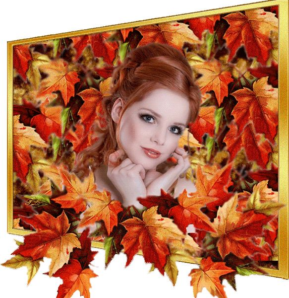 Девушки осень открытка, поздравления днем