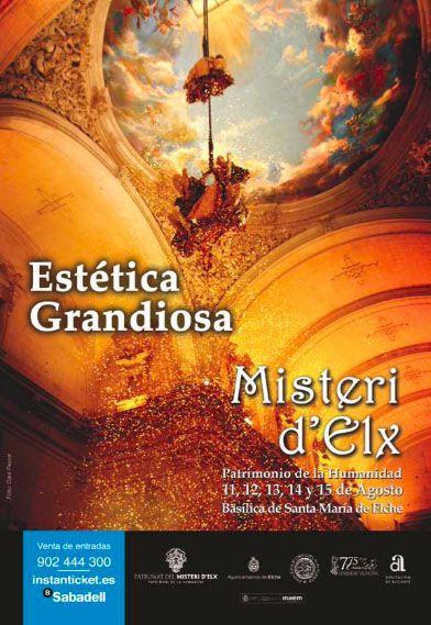 Estética grandiosa. Campaña publicitaria #MisteridElx 2014 realizada por @grupoanton