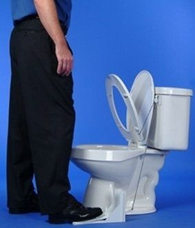 This toilet lid pedal: | 19 Absolutely Necessary Products For Lazy People  Now that is cool!
