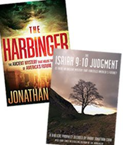 The Harbringer (Paperback) & The Isaiah 9:10 Judgment (DVD)...i'm reading The Harbringer, the dh watched the DVD. we both get chilled to the bone at how accurate and defining this message is. you really should see this!