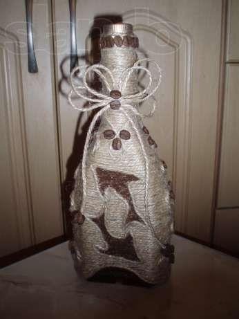 Кофейное дерево, декор бутылок Киев - изображение 2